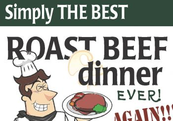 Simply the Best ROAST BEEF DINNER